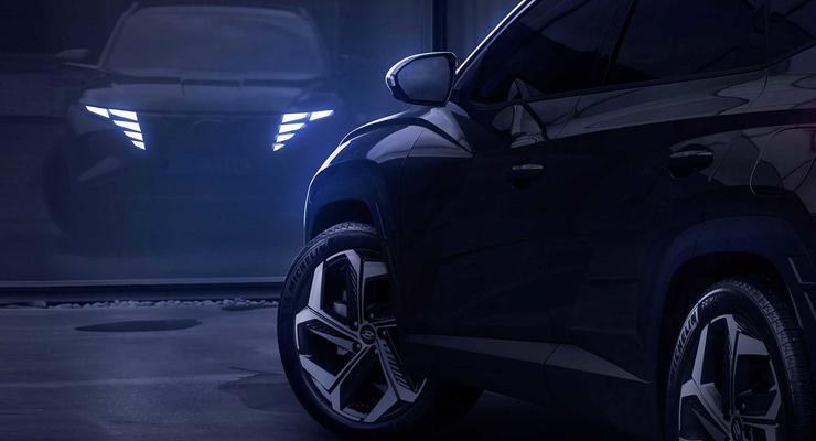 Новый Hyundai Tucson 2021 засветился на видео