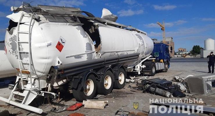 В Киеве взорвалась цистерна с газом: есть жертвы