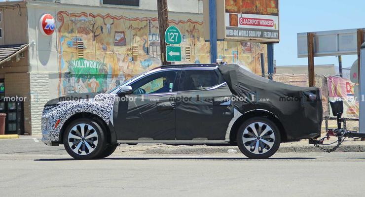 В сети показали шпионские фото нового пикапа  от Hyundai: подробности