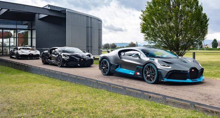 Ушла эпоха: Volkswagen Group заговорил о продаже бренда Bugatti