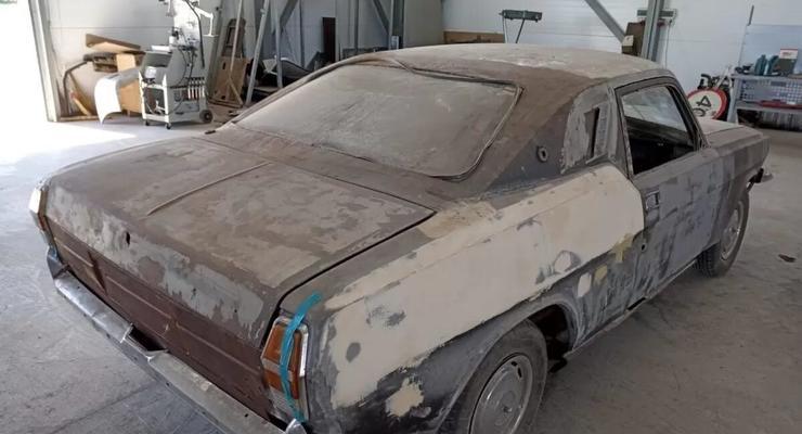 Килограммы шпакли и сварки: как из Волги пытались сделать Ford Mustang.