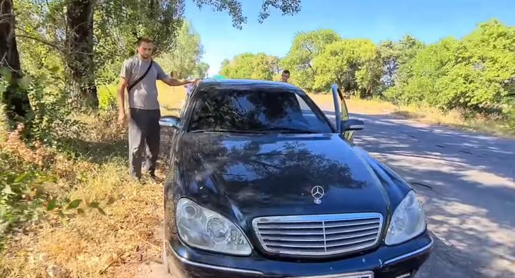 В Украине нашли Mercedes S600 AMG за 3600 долларов и он на ходу
