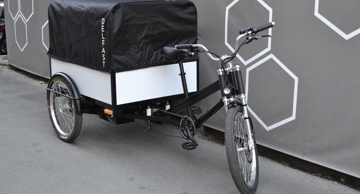 В Украине презентовали уникальный грузовой велосипед: подробности