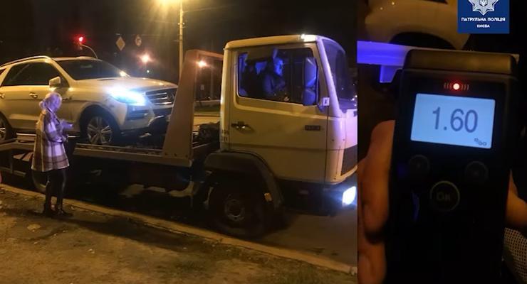 Подборка аварий с пьяными водителями: видео