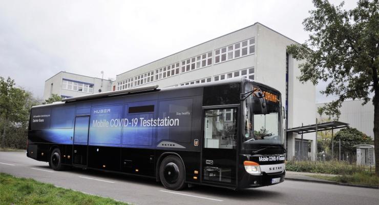 Setra показала уникальный автобус для борьбы с COVID-19: подробности
