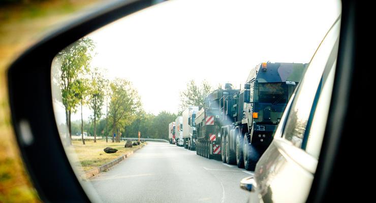 Что такое колонна авто по ПДД Украины и можно ли ее обгонять