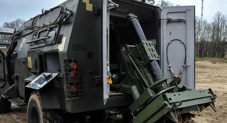 Украинский бронеавтомобиль получил необычное вооружение: фото