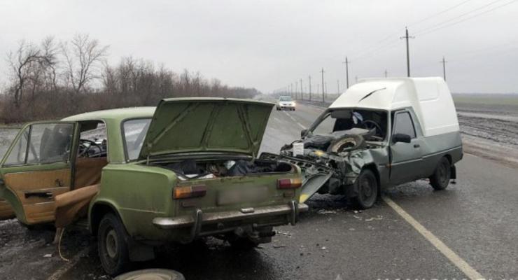 ДТП в Донецкой области из-за летней резины: пострадали трое детей