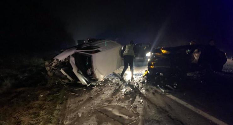 Смертельное ДТП на трассе Киев-Чоп: видео с места происшествия