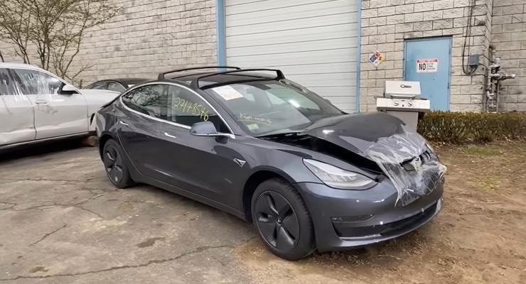 За сколько можно пригнать самую дешевую Tesla из США: цены и фото