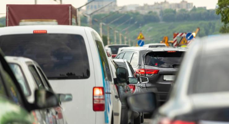 Киев поставил новый антирекорд: 7 место в мире по уровню пробок