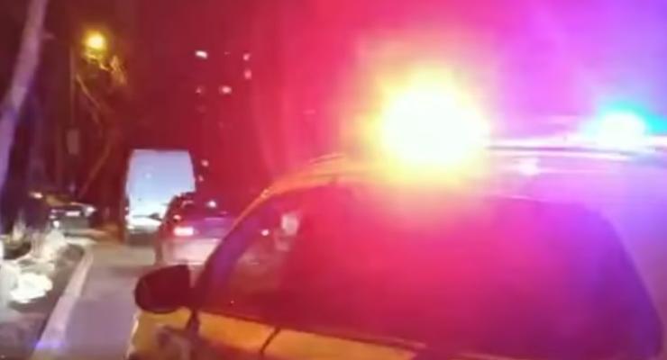 GTA по-киевски: как автовор-неудачник пытался угнать Honda, видео