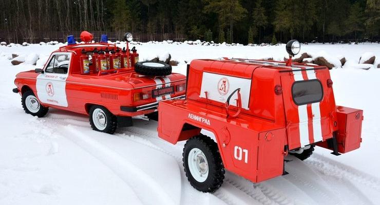 В сети показали уникальный пожарный Запорожец: фото