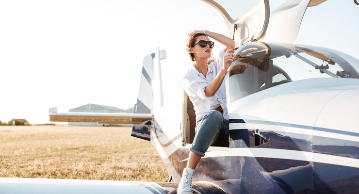 Украинцы пересаживаются на частные самолеты: автомобили уходят в прошлое
