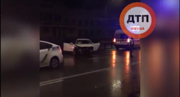 Пьяное ДТП с погоней и пострадавшими в Киеве: подробности и видео