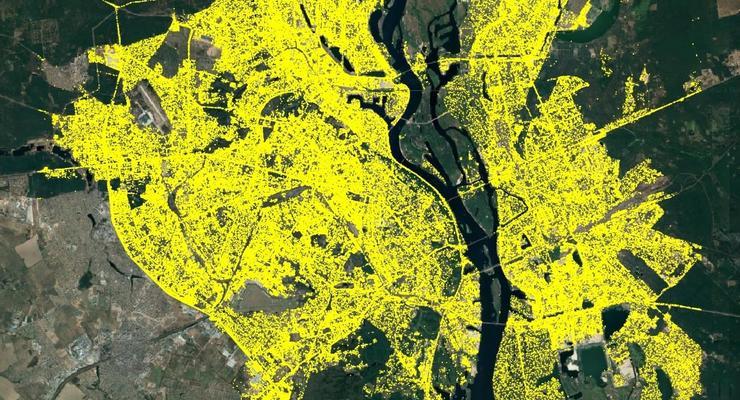 Количество автомобилей в Киеве посчитали при помощи ИИ