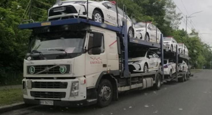 Полиция Киева пересядет на новые Toyota: что известно
