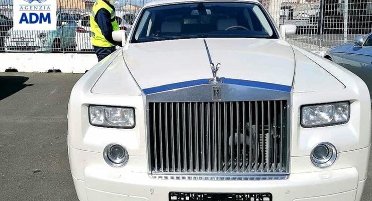 Итальянцы конфисковали Rolls-Royce из России с незаконным тюнингом
