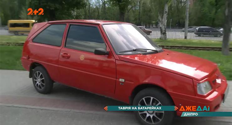 В сети показали украинский электрокар Kozak EV: видео