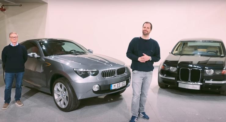 BMW показала 20-летний концепт кар опередивший свое время: видео
