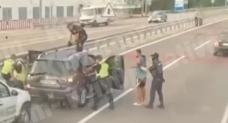 Под Киевом задержали водителя, который сбил мальчика в Первомайске
