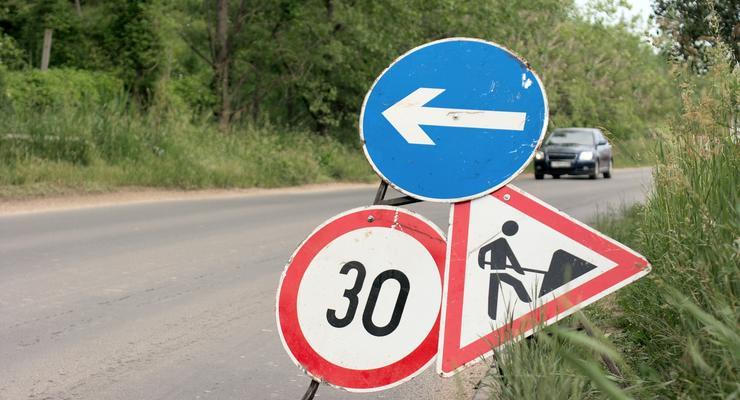 Предупреждающие знаки в Украине: какие бывают и где ставятся