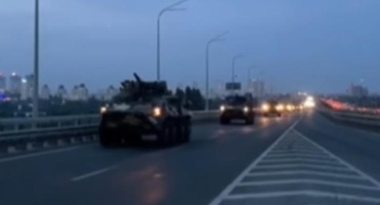 На параде в Киеве будет выступать поломанная бронетехника: видео