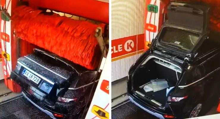 Как не нужно мыть автомобиль:инструкция от владельца Range Rover