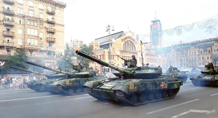 Репетиция парада в Киеве: карта перекрытых улиц в центре столицы