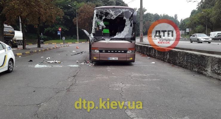 Авария с автобусом Кишинев-Москва в Киеве: появились новые подробности