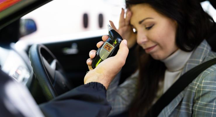Как полиция ловит водителей на пьянстве за рулем: схема