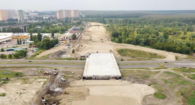 В Киеве откроют часть Большой Кольцевой дороги к концу 2021 года