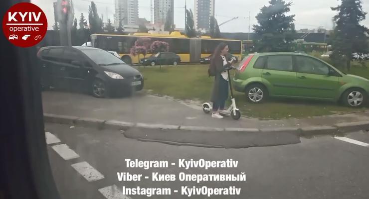 Киевские водители массово нарушают ПДД в пробках: скандальное видео