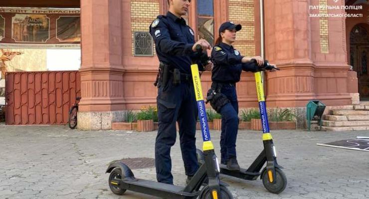 Теперь и на электросамокатах: у полиции появился новый вид транспорта