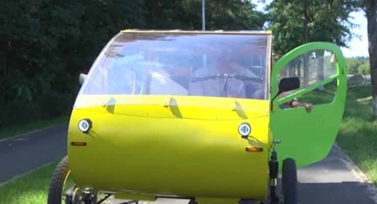 В сети показали необычный украинский электромобиль: видео