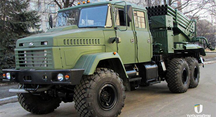 """Украинские военные получили новую систему залпового огня """"Верба"""""""