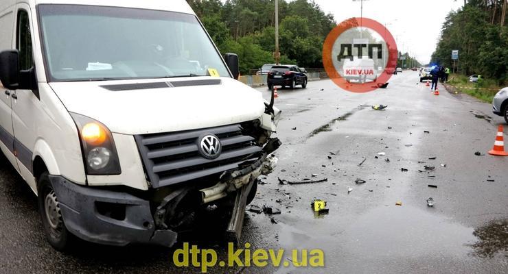 В ДТП из-за непогоды, погибла девушка-пешеход: видео
