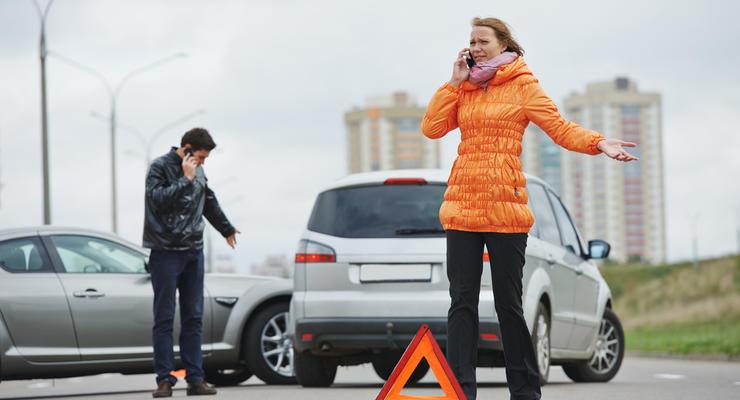 Штраф за ДТП в Украине: что грозит водителю