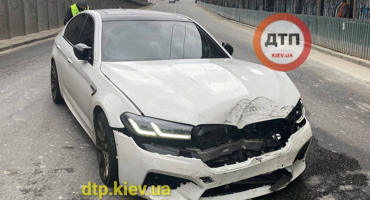 Серьезной аварий закончился неудачный дрифт на BMW: видео инцидента
