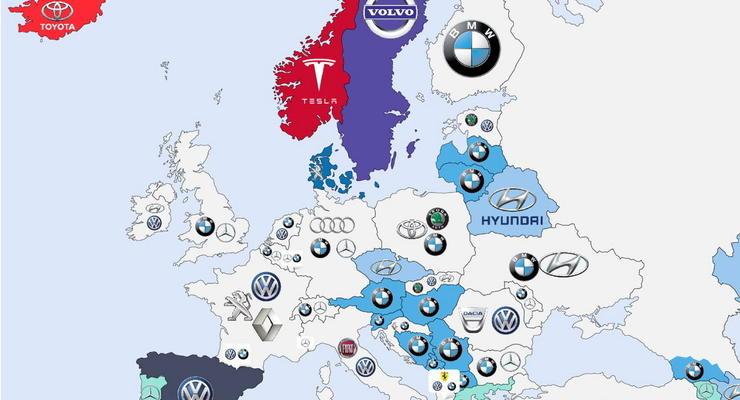 Необычные автомобильные карты мира: привычные вещи под другим углом