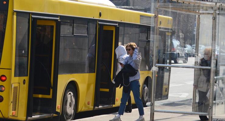Красная зона карантина в Киеве: Как будет работать общественный транспорт