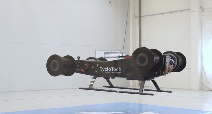 В сети показали безвинтовой летающий автомобиль: видео
